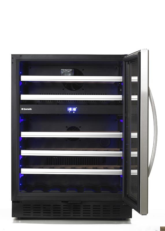 Dometic quotmacave s46gquot weintemperierschrank fur 46 for Weintemperierschrank 2 zonen