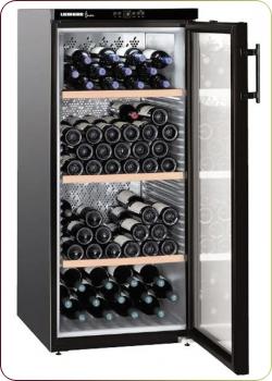 Liebherr - `WKb 3212 Vinothek`, Weinklimaschrank für 164 Flaschen, 1 Zone, 5 - 20°C