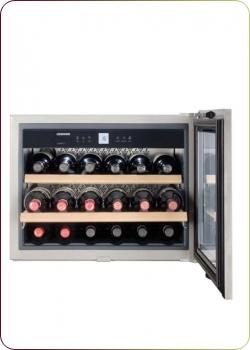 Liebherr - `WKEes 553 GrandCru`, Weinklimaschrank für 18 Flaschen, 1 Zone, 5 - 20°C