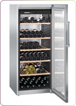 Liebherr - `WKes 4552 GrandCru`, Weinklimaschrank für 201 Flaschen, 1 Zone, 5 - 20°C