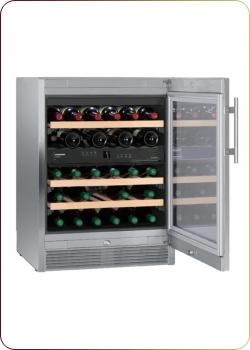 Liebherr - `WTes 1672 Vinidor`, Weintemperierschrank für 34 Flaschen, 2 Zonen, 5 - 20°C