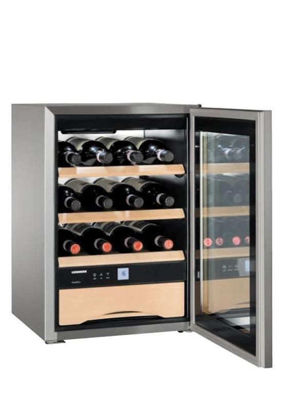 liebherr wkes 653 grandcru weinklimaschrank f r 12 flaschen 1 zone 5 20 c liebherr. Black Bedroom Furniture Sets. Home Design Ideas