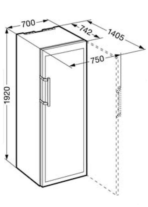 liebherr wtes 5872 vinidor weintemperierschrank f r. Black Bedroom Furniture Sets. Home Design Ideas