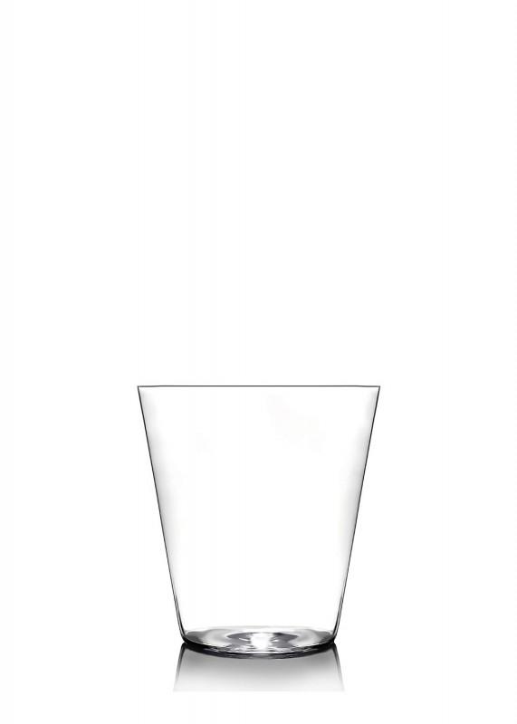 Becher 6er Set Glas Gläser Universalgläser Kristallglas Handgefertigt Rot