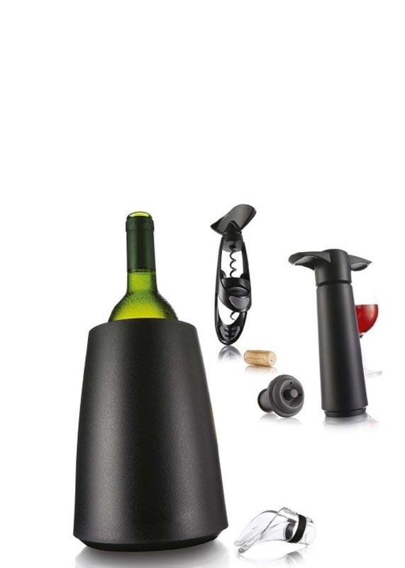 vacu vin geschenkset wein geschenkset mit weink hler vacuumpumpe korkenzieher ausgie er. Black Bedroom Furniture Sets. Home Design Ideas