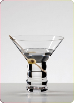 "Riedel - The O Wine Tumbler, ""Martini"" 1 Martiniglas (0414/77)"